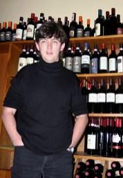 Выбор вин в одном из ресторанов.