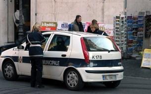 Римские девочки-полицейские.