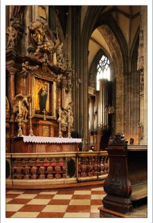 Смесь готики и барокко в соборе Св. Стефана.