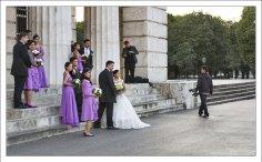 Свадьба в центре Вены.