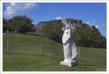 Статуя «Слованки», созданная скульптором Людимилой Цвенгрошовой.