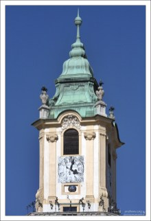 Старейшая ратуша в Словакии.