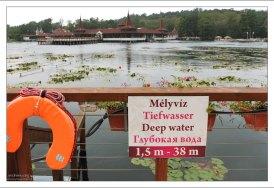 Вода в озере Хевиз полностью обновляется в течение 72 часов.