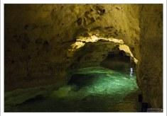 Температура воды в подземном озере около +36C.