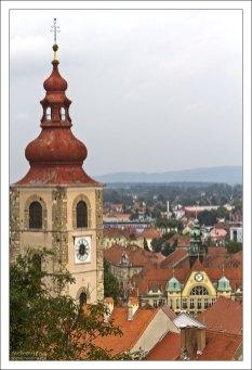 Свободно стоящая башня при церкви Св. Георгия (Cerkev Svetega Jurija, 16 век).