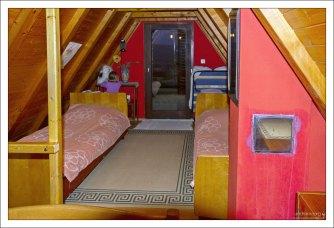 Спальня на втором этаже.