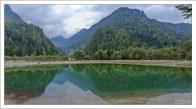 Красивая вода озера Jasna.