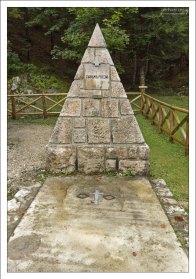 Памятник погибшим военнопленным.