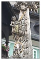 Детали обелиска Святой Троицы.