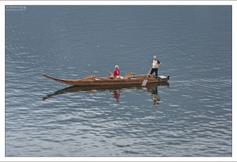 Лодки Fuhr boats перевозили тяжелые грузы (соль) по неглубокой воде.
