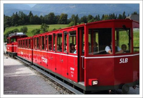 Встречный поезд Шафбергбан.