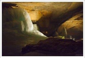 Первые секции Ледяной пещеры были исследованы в 1910 году.