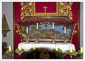 Рака-саркофаг с останками христианской мученицы Св. Репараты.