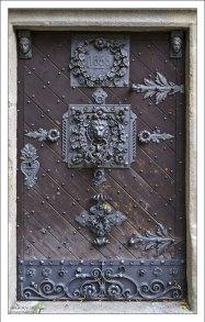Дверь в Чёрную башню (Černá Věž).