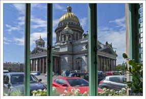 Кафе «Счастье» на Исаакиевской площади.