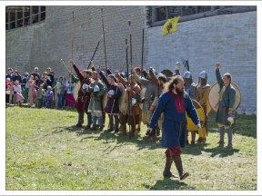 Роль викингов исполняли финны, такие же увлеченные и очень артистичные люди, приехавшие на правах гостей фестиваля.