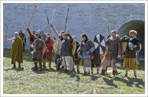 Воины после боя.