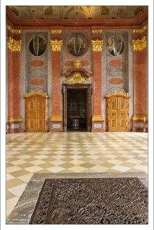 Marble Hall - Мраморный зал. Использовался как столовая.