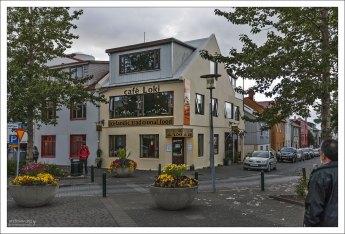 Знаменитое столичное кафе Loki, где подают традиционную исландскую еду.