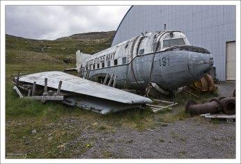 Останки самолета, принадлежавшего U.S.Navy.