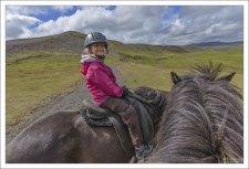 "Во время конного тура ""Pleasure in every hoofstep"" от компании Hesta Sport."