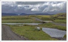 Округ Скага-фьорд, где поголовье лошадей превышает количество людей.
