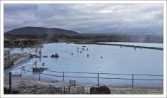 Термальные ванны озера Миватн.
