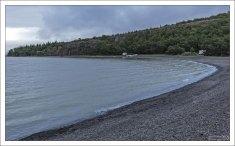 Залив Atlavik на востоке страны.