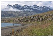 Три фьорда идут один за другим: Berufjörður, Hamarsfjörður, и Álftafjörður.