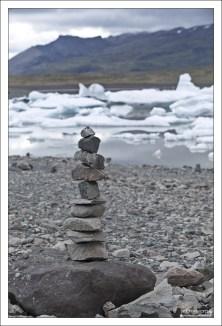 Тур, или каирн (cairn) в Исландии.