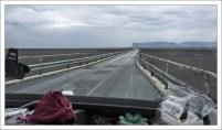 """Однополосный мост и """"карман"""" для разъезда."""