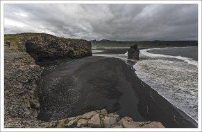 Dyrhólaey - самая южная точка материковой части Исландии.