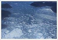 Кусочки Якобсхавна (дат. Jakobshavn Isbræ) - крупного выводного ледника в западной Гренландии.