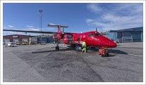 Самолет Dash 7 используется в малоосвоенных районах с мало развитой аэродромной инфраструктурой.
