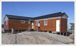Наша гостиница в Гренландии - IceCap Apartments.