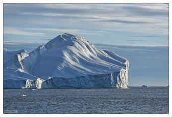 Северная часть залива Диско практически круглый год блокирована льдом.