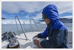 Заведующая по распределению льда среди пассажиров :)