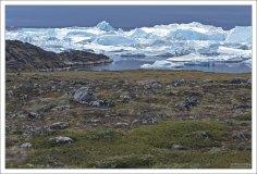 Фьорд Илулиссат является частью залива Диско.