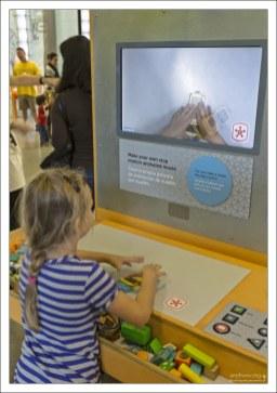 Создание мультика своими руками в детском музее Thinkery.
