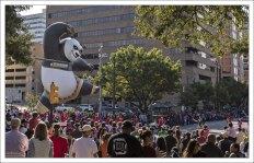 Начало парада, посвященного Дню Благодарения.