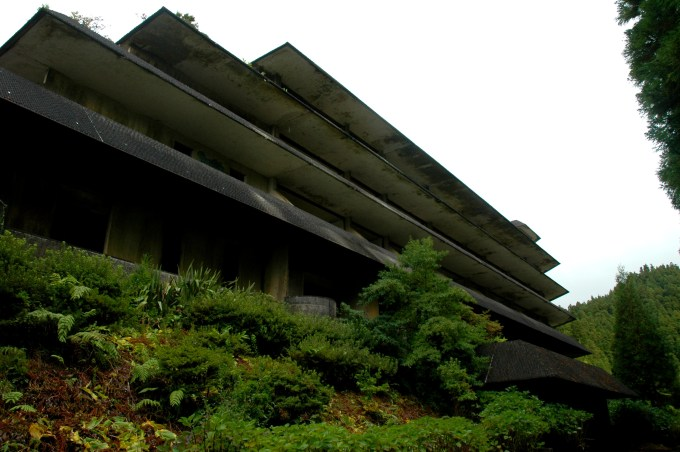 Monte Palace Azores Abandoned Hotel
