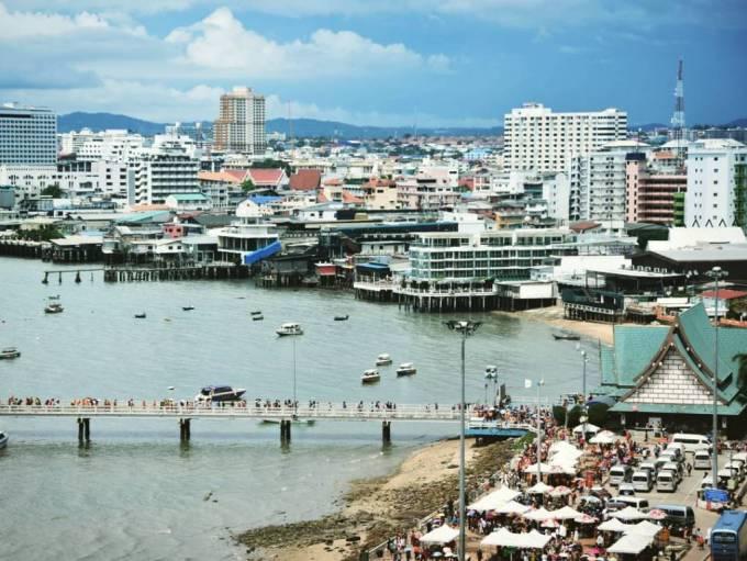 Pattaya Thailand Pier