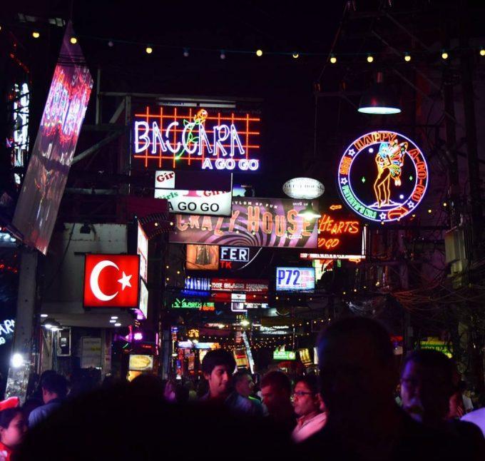 Pattaya Walking Street Thailand