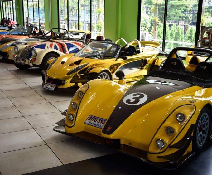 Nong Nooch Gardens Pattaya Cars
