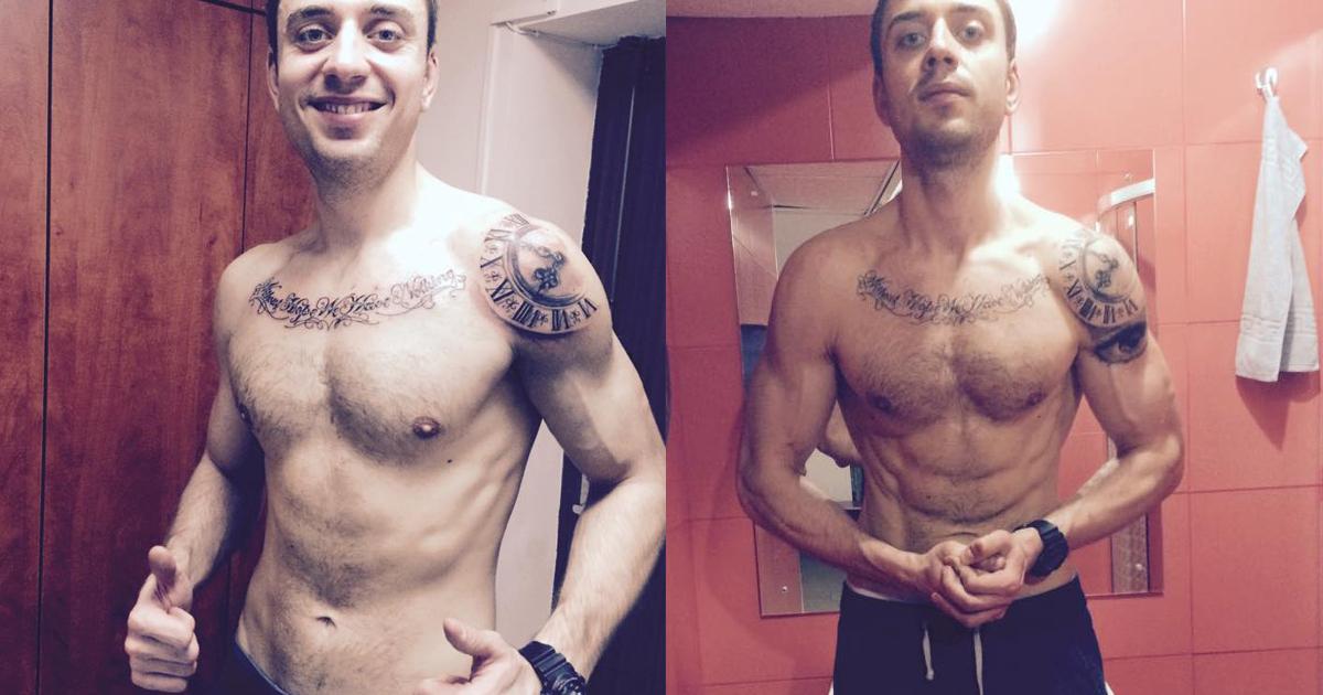 O transformare remarcabila cu dieta keto