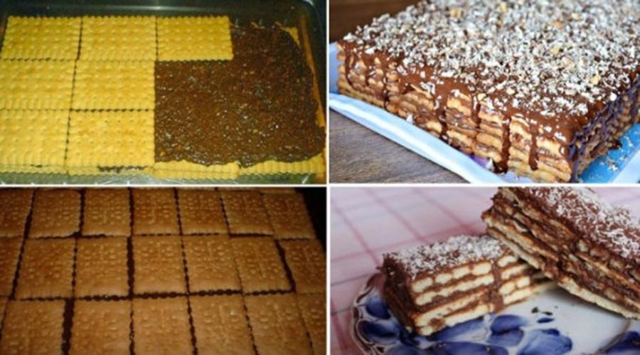 Tort de biscuiti cum nu ai mancat niciodata! Se prepara foarte usor. Iata cum…