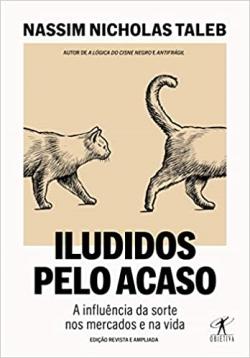 """Capa do livro """"Iludidos pelo acaso"""""""