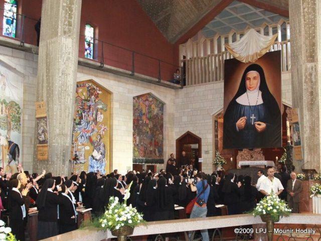 Cristiani in festa per Beata Maria Alfonsina
