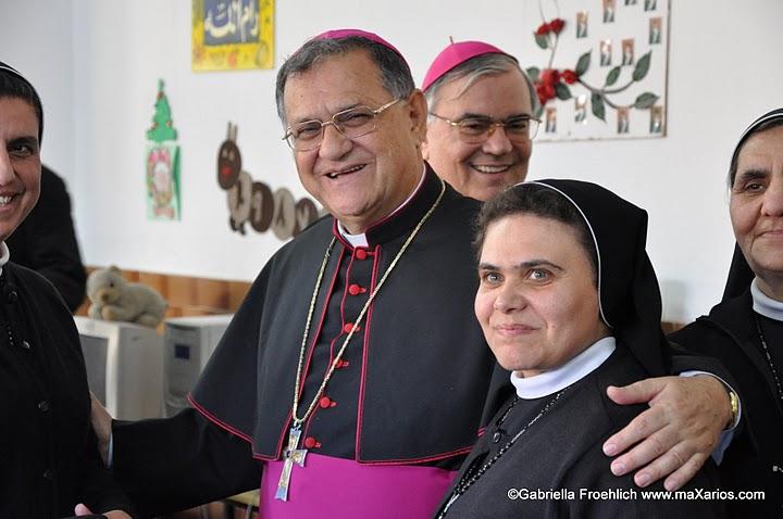 Scambio di gioia nella messa di Natale a Gaza