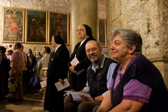 Domenica delle palme al Santo Sepolcro 2011
